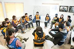 リーダートレーニング(ピースボート災害ボランティアセンター)